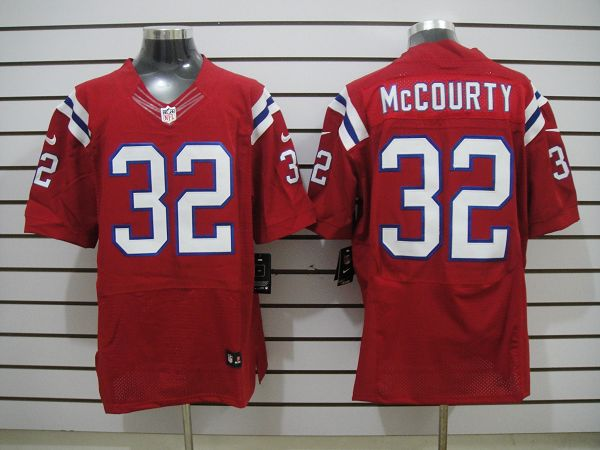 New England patriots 32 McCourty Red Elite Nike jerseys