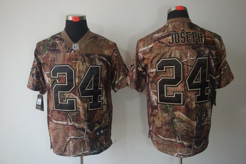 Houston Texans 24 Joseph Camo Elite Nike jerseys