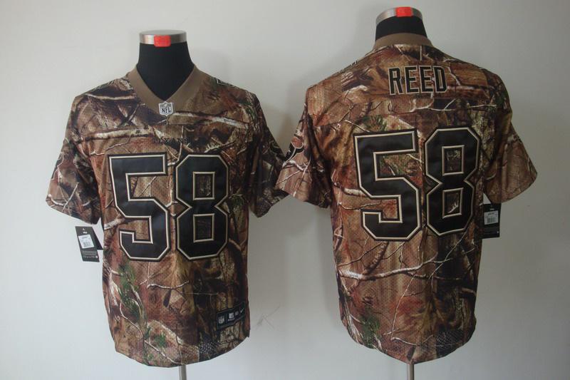 Houston Texans 58 Reed Camo Elite Nike jerseys