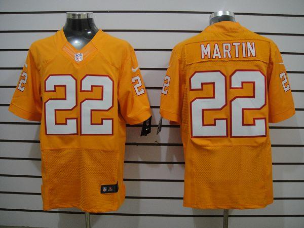Tampa Bay Buccaneers 22 Martin Orange Elite Nike jerseys