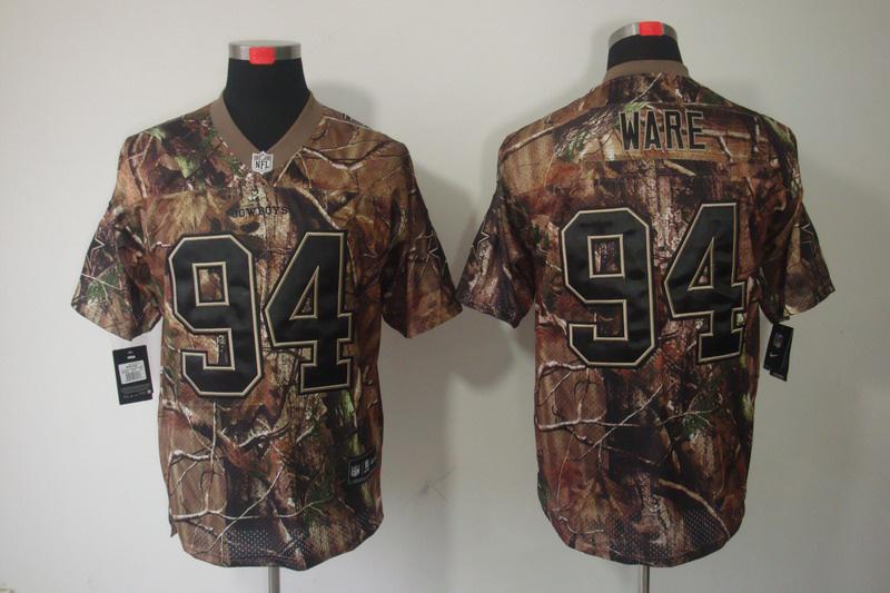Dallas cowboys 94 Ware Camo Elite Nike jerseys