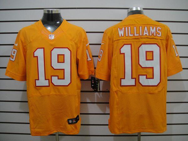 Tampa Bay Buccaneers 19 Williams Orange Elite Nike Jersey