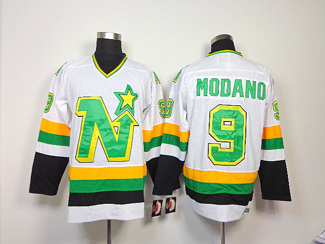 NHL Dallas Stars 9 Mike Modano white Jersey