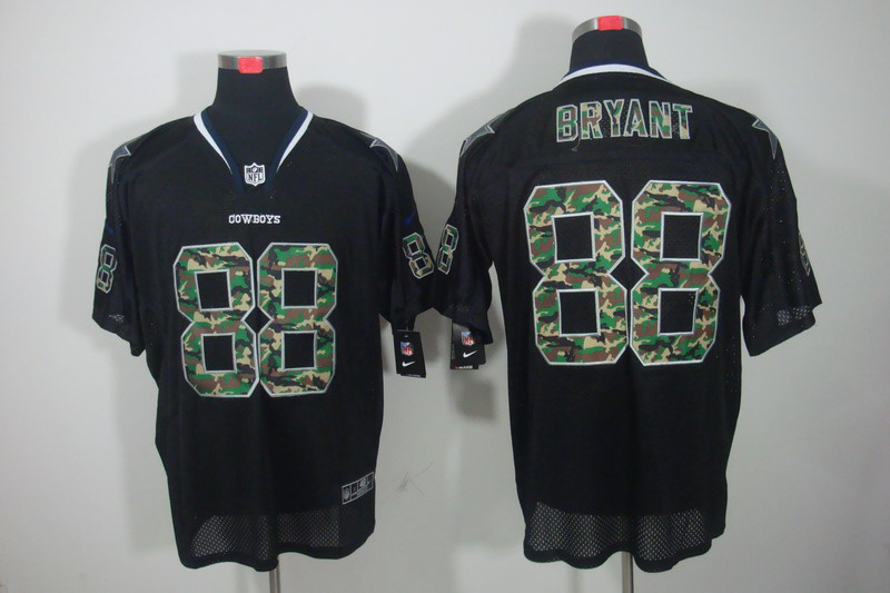 Dallas cowboys 88 Bryant Nike Camo Fashion Elite Jerseys