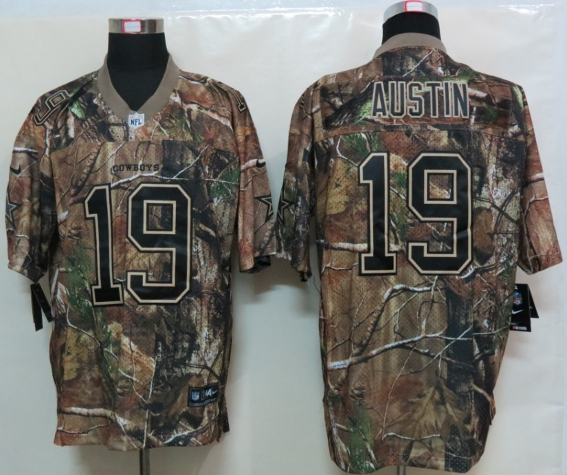 Dallas cowboys 19 Austin Camo Elite Nike Jerseys