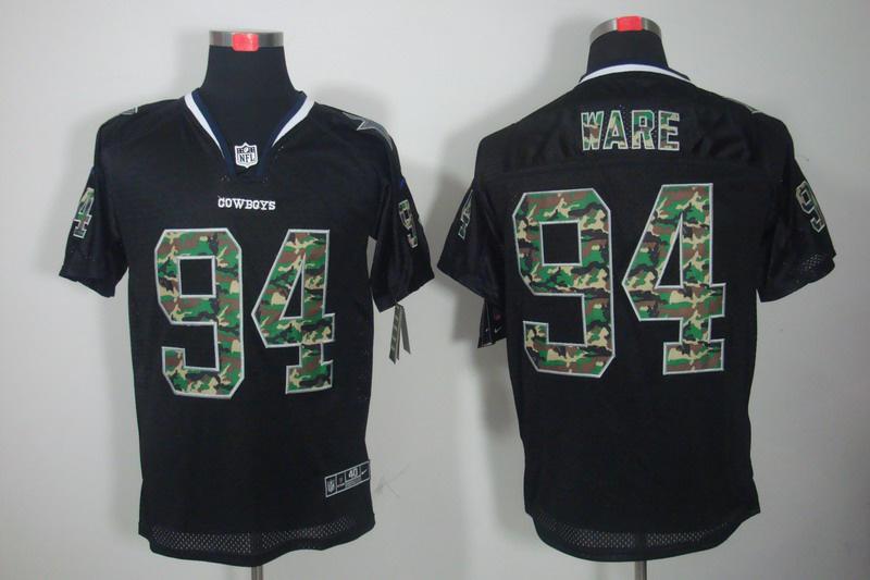 Dallas cowboys 94 Ware Nike Camo Fashion Elite Jerseys