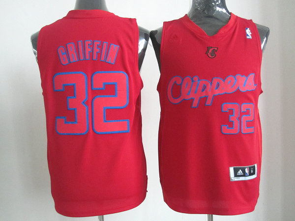 Clippers 32 Griffin red christmas jerseys