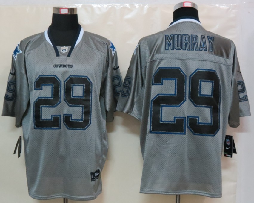 Dallas cowboys 29 Murray Nike Lights Out Grey Elite Jerseys