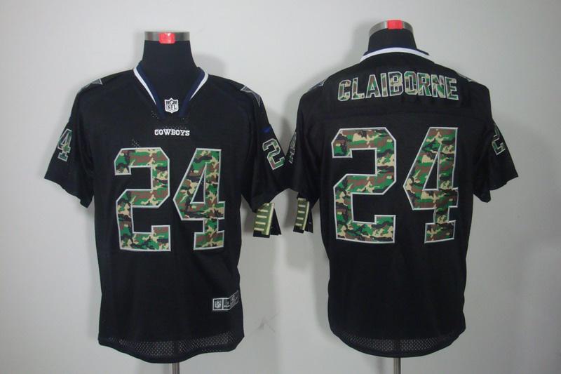 Dallas cowboys 24 Claiborne Nike Camo Fashion Elite Jerseys