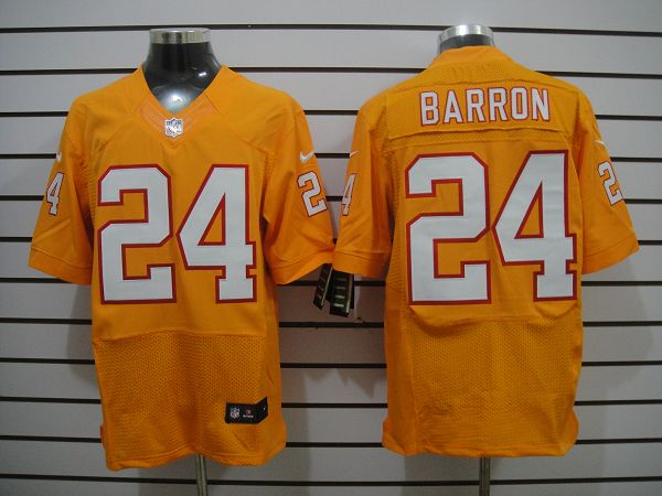 Tampa Bay Buccaneers 24 Barron Orange Nike Elite Jerseys