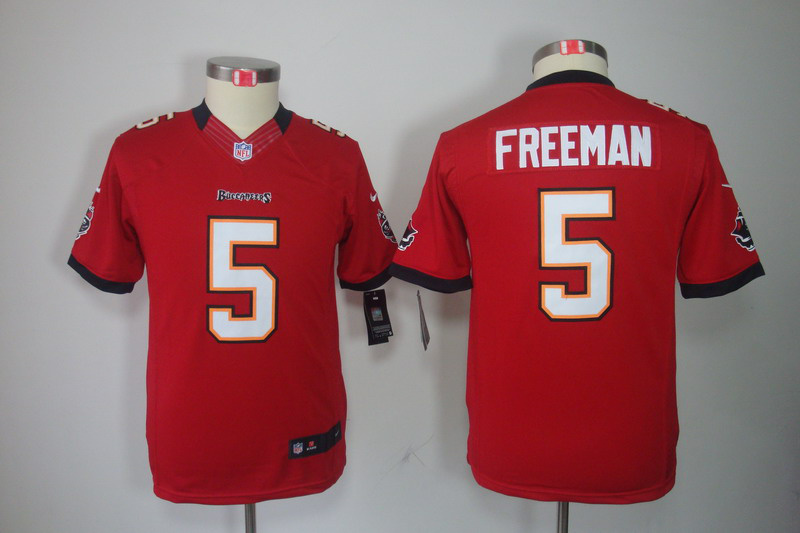 Tampa Bay Buccaneers 5 Freeman Red youth Nike Limited Jersey