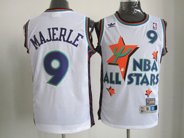 nba 1995 all star 9 majerle white