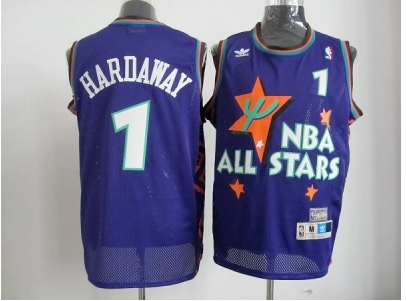 nba 1995 all star #1 hardaway purple