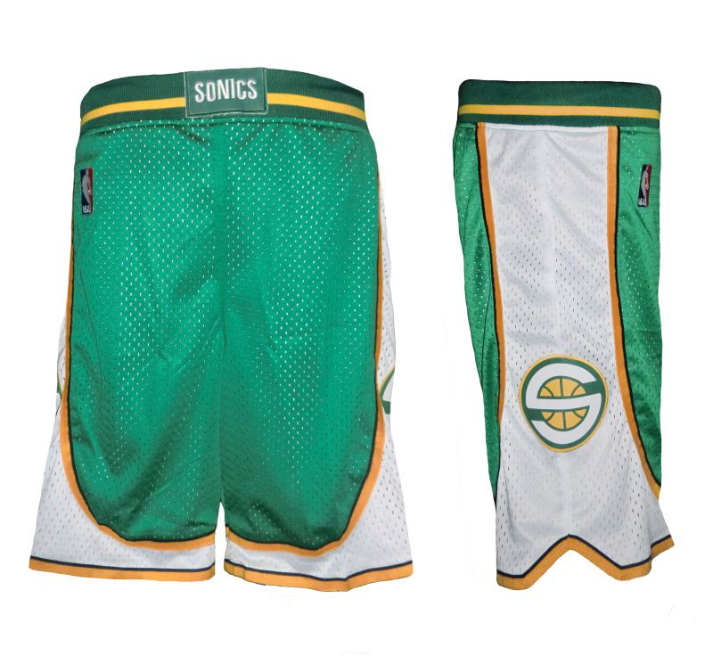 Seattle Supersonics shorts