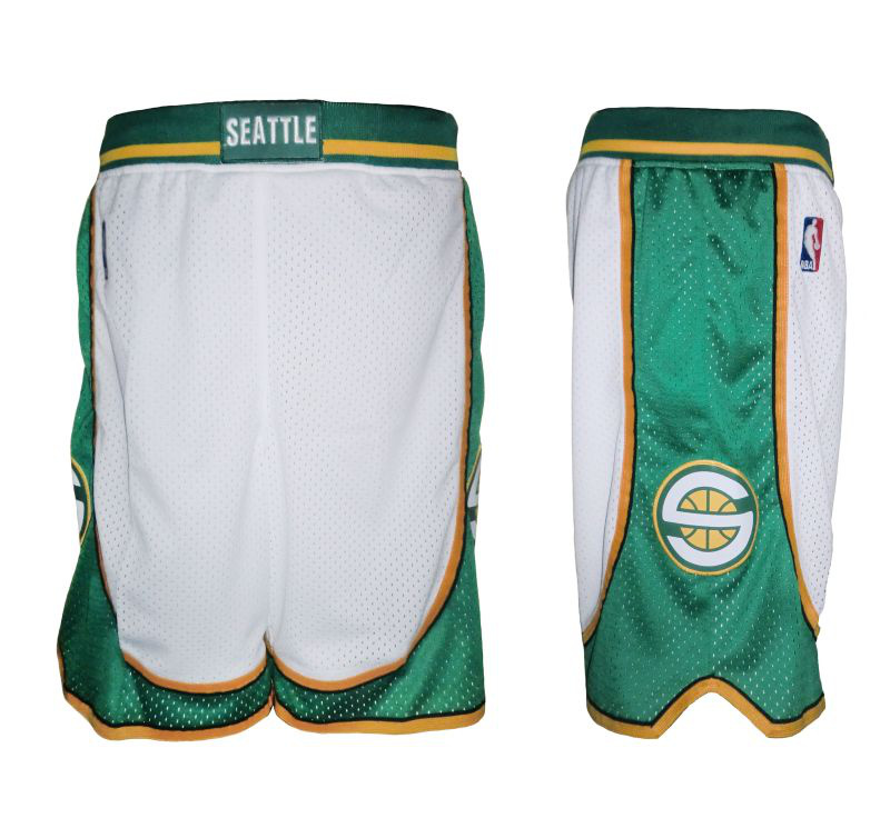 Seattle Supersonics shorts2