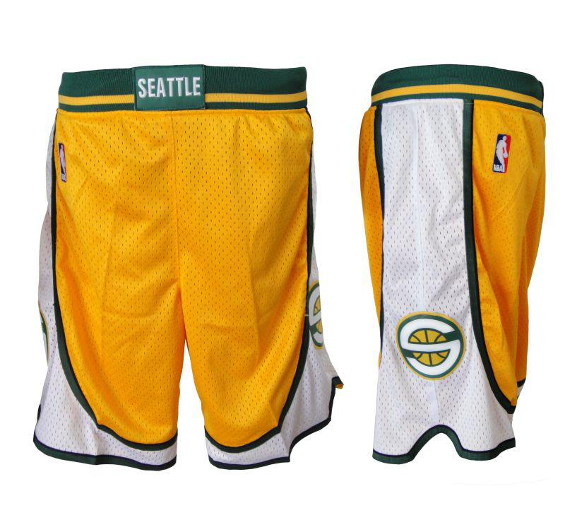 Seattle Supersonics shorts3