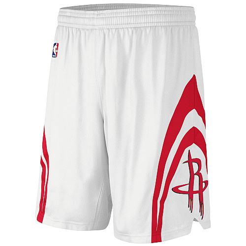 Houston Rockets white shorts
