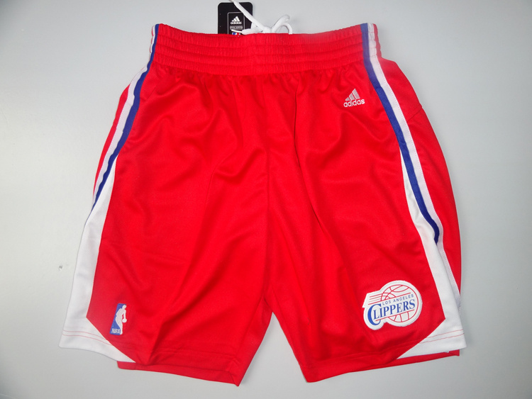 Los Angeles Clippers red shorts
