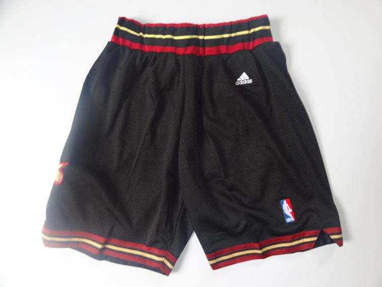 Philadelphia 76ers blue shorts
