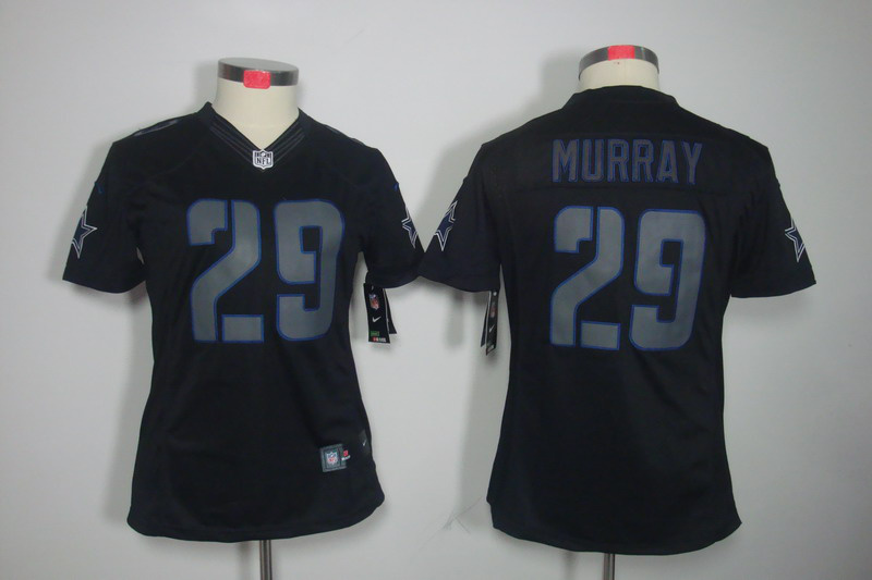 Womens Dallas cowboys 29 Murray Nike Impact Limited Black Jersey