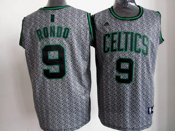 NBA Boston Celtics 9 Rajon Rondo 2013 new Static Fashion Swingman Jersey Limited Edition