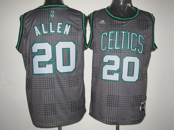NBA Boston Celtics 20 Ray Allen Rhythm Fashion jersey Limited Edition