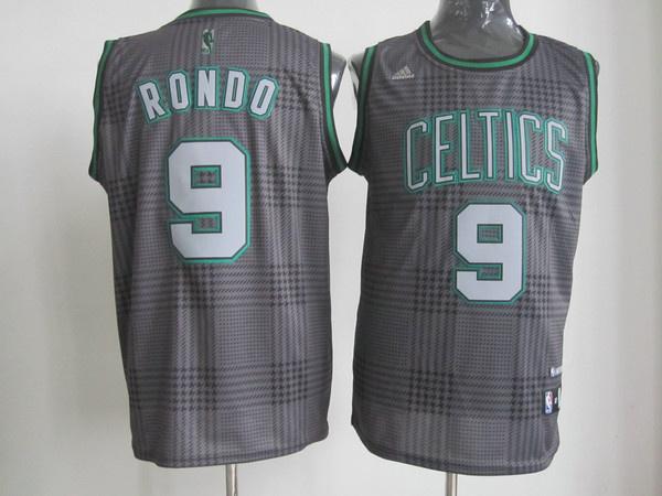 NBA Boston Celtics 9 Rajon Rondo Rhythm Fashion jersey Limited Edition