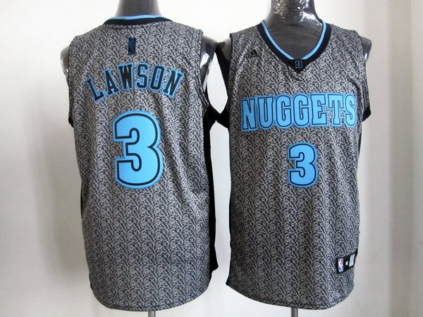 NBA Denver Nuggets 3 Ty Lawson 2013 new Static Fashion Swingman Jersey (Limited Edition)
