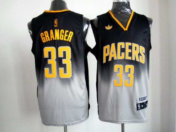 NBA Indlana Pacers 33 Danny Granger 2013 new black grey jersey