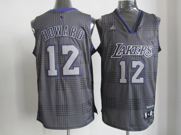 NBA Los Angeles Lakers 12 Dwight Howard Rhythm Fashion jersey Limited Edition