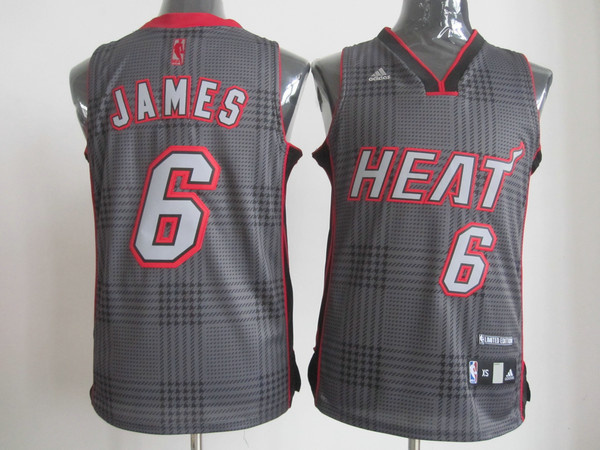 NBA Miami Heat 6 Lebron James Rhythm Fashion jersey Limited Edition