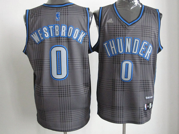NBA Oklahoma City Thunder 0 Russell Westbrook Rhythm Fashion jersey Limited Edition