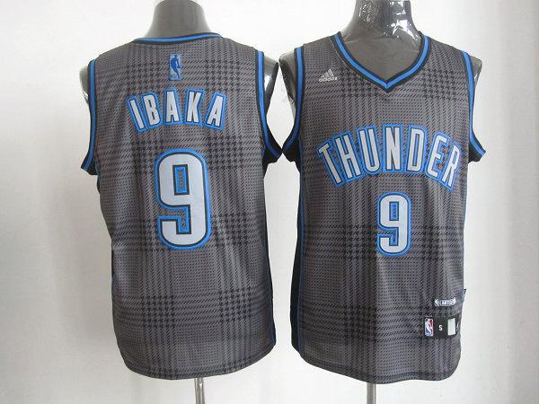 NBA Oklahoma City Thunder 9 Serge Ibaka Rhythm Fashion jersey Limited Edition