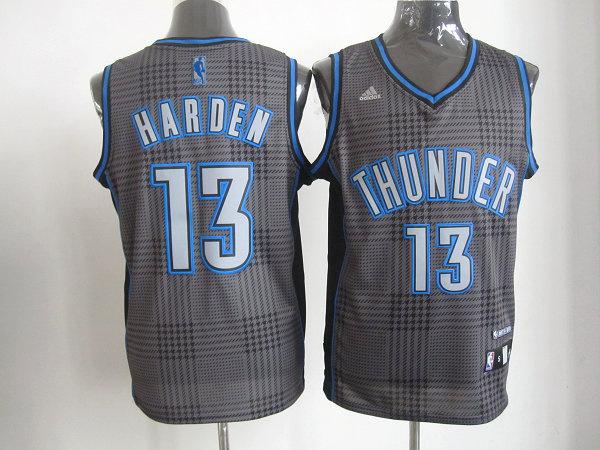 NBA Oklahoma City Thunder 13 James Harden Rhythm Fashion jersey Limited Edition