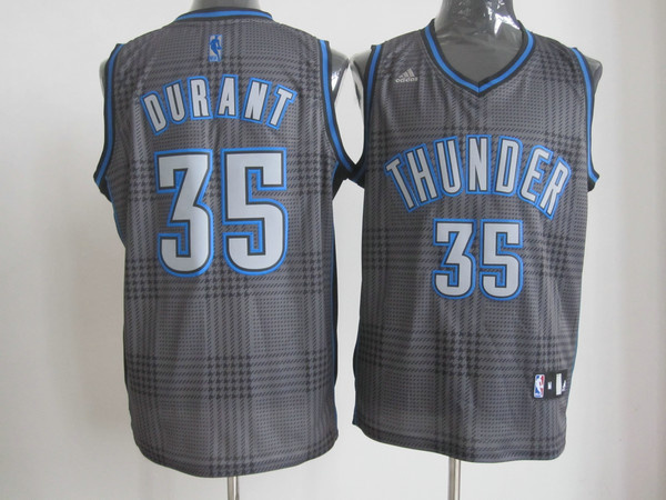 NBA Oklahoma City Thunder 35 Kevin Durant Rhythm Fashion jersey Limited Edition