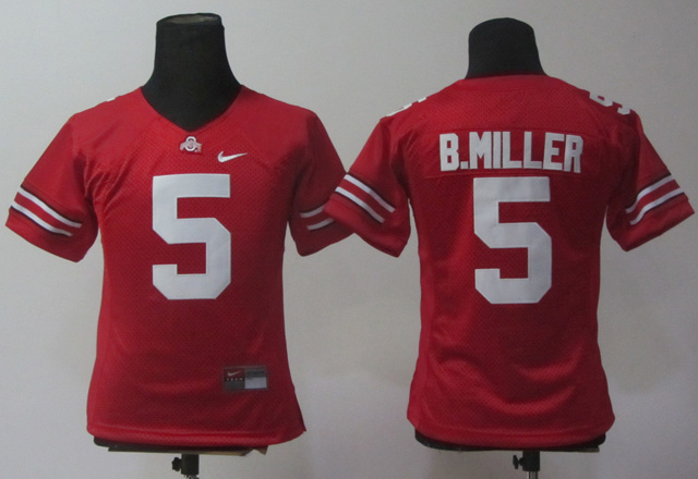 NCAA Women Nike Ohio State Buckeyes 5 Braxton Miller Red College Football Jerseys