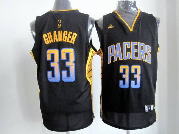 NBA Indlana Pacers 33 Danny Granger black multi color jersey