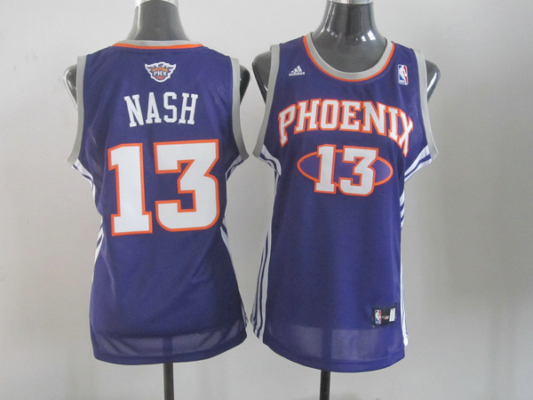 NBA Womens Phoenix Suns 13 Steve Nash Suns purple jersey