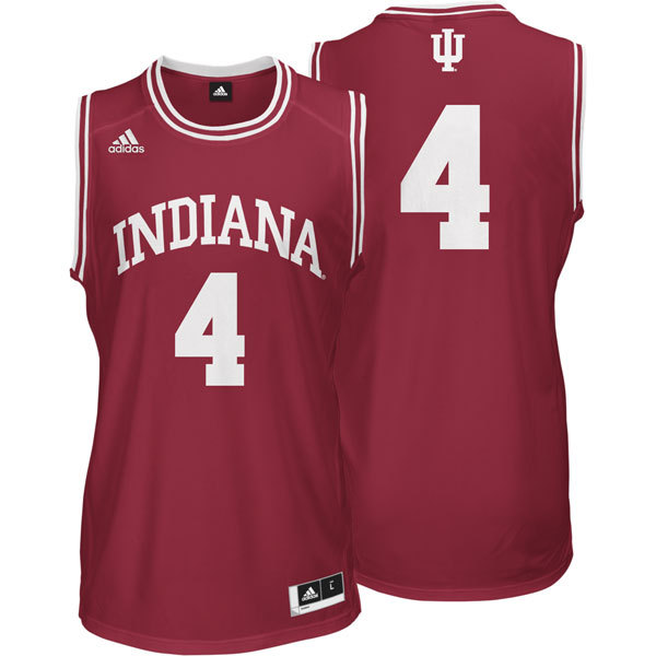 NBA NCAA Adidas Indiana Hoosiers 4 Victor Oladipo Red Basketball Jerseys