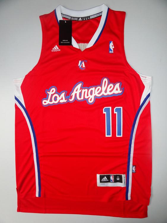 NBA Los Angeles Clippers 11 Jamal Crawford Red Swingman Jersey