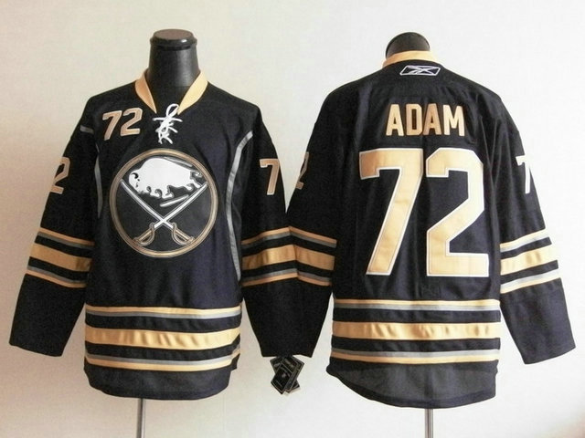 NHL Jerseys Buffalo Sabres 72 Luke Adam Navy Blue