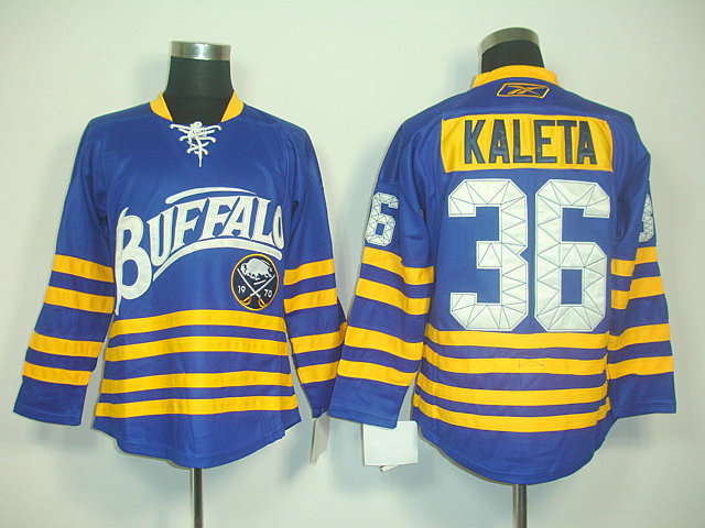 NHL Jerseys Buffalo Sabres 36 Patrick Kaleta Light Blue Third 40TH