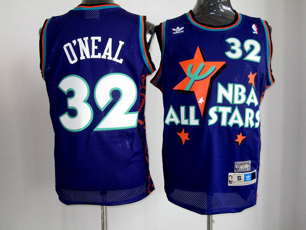 NBA 1995 all star 32 O'Neal purple