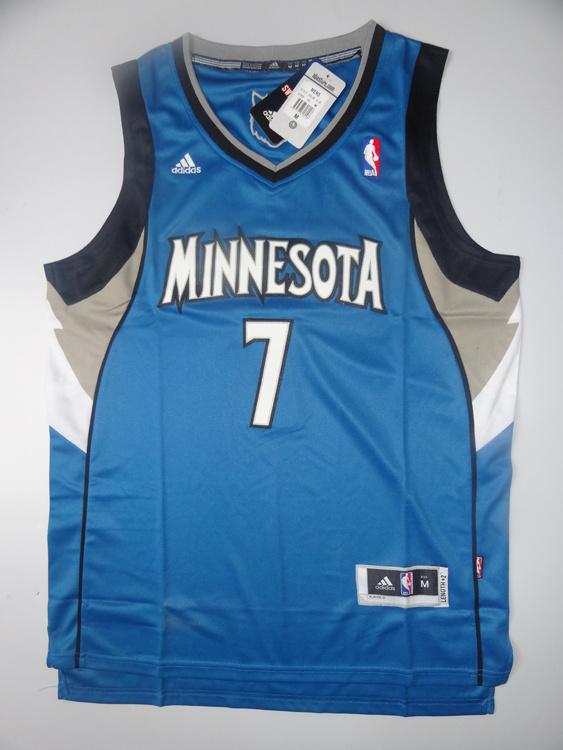NBA Jerseys Minnesota Timberwolves 7 Williams Blue