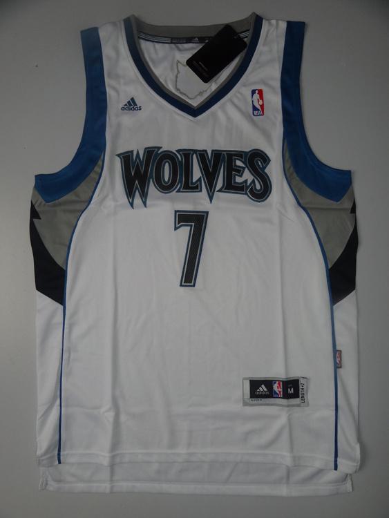 NBA Jerseys Minnesota Timberwolves 7 Williams White