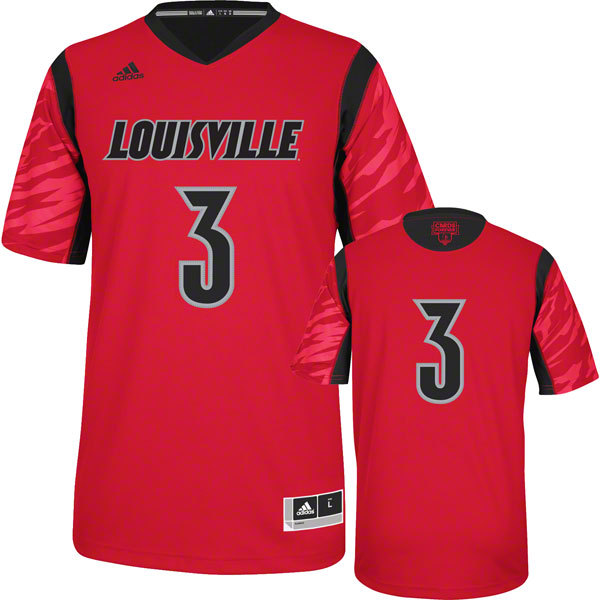 NBA NCAA adidas Louisville Cardinals 2013 March Madness Peyton Siva 3 Red Jersey