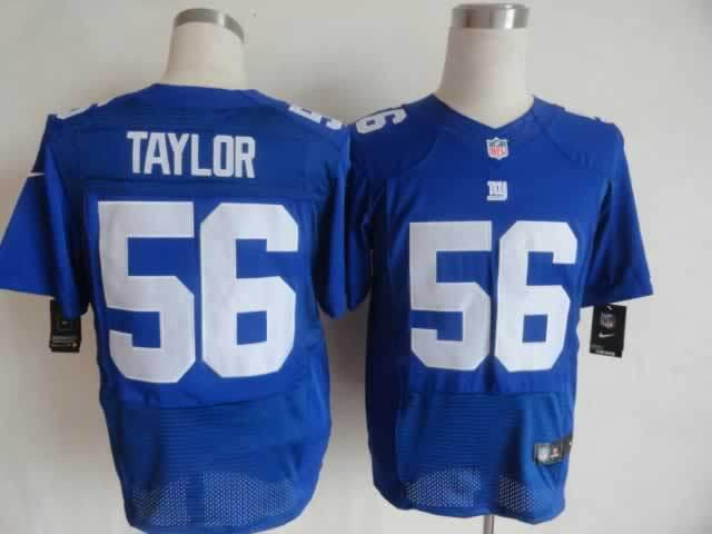 New York Giants 56 Taylor blue Nike Elite Jerseys