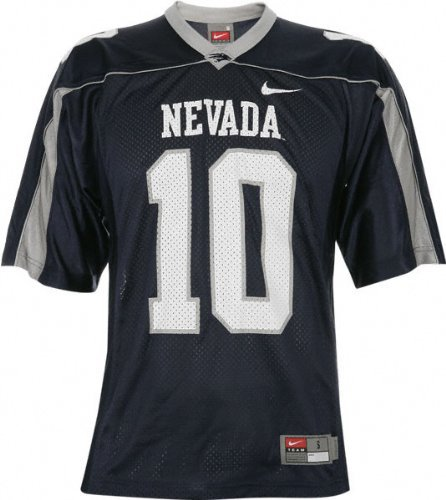 NCAA Nevada Wolf Pack 10 Colin Kaepernick Blue WAC Patch College Football Jerseys