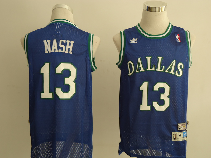 NBA Dallas Mavericks 13 Nash blue Jerseys