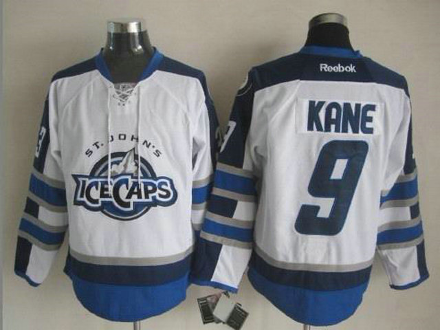NHL Winnipeg Jets 9 Evander Kane White St. John's IceCaps